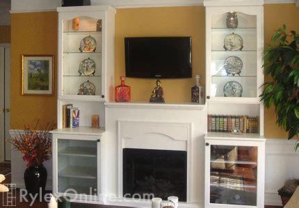 fireplace entertainment center fireplace shelves