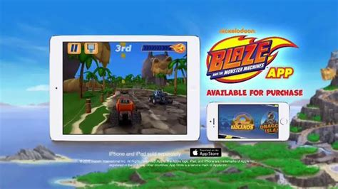 blaze and the monster machines app nickelodeon blaze and the monster machines app tv spot