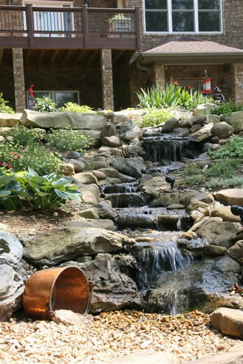 1000 images about backyard waterfalls on
