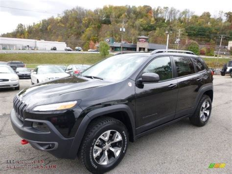trailhawk jeep black 2015 jeep cherokee trailhawk 4x4 in brilliant black