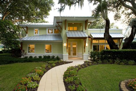 how to warm your home with tropical colors freshome com klemann tropical exterior ta by aude smith