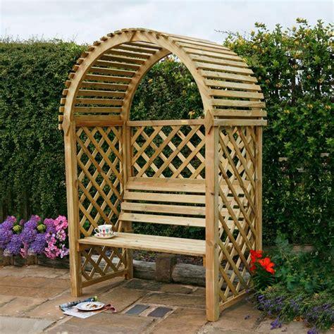 garden bench with trellis garden arbour seat pergola trellis wood arch bench corner