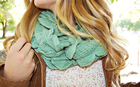 ruffled infinity scarf cozy ruffled infinity scarf for all the