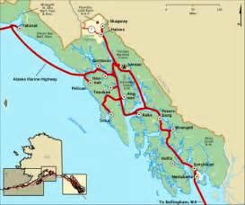 marine highway inside passage map