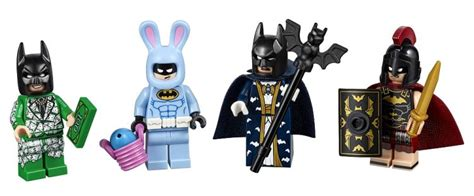 Exklusif Lego Minifigures Panda Suit Limited more the lego batman minifigures for bricktober brick fanatics