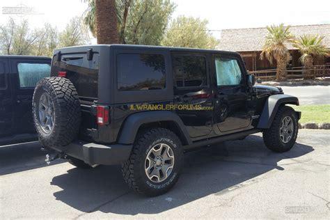 Wrangler Jl Diesel by 2018 Jeep Wrangler Rubicon Diesel Mule Spied With Def Tank