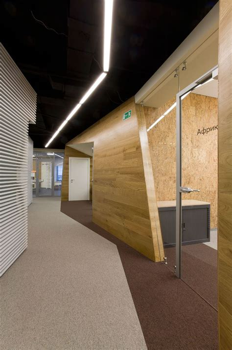 Bor Modern yandex office design by za bor architects architecture interior design ideas and