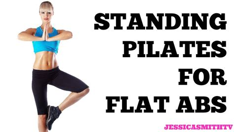 standing pilates for flat abs 12 minute bodyweight only