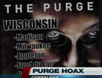 the victory lap: there may be a real life purge in