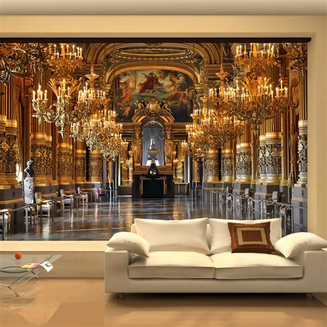 wall murals for rooms large 3d wallpaper mural european minimalist living room