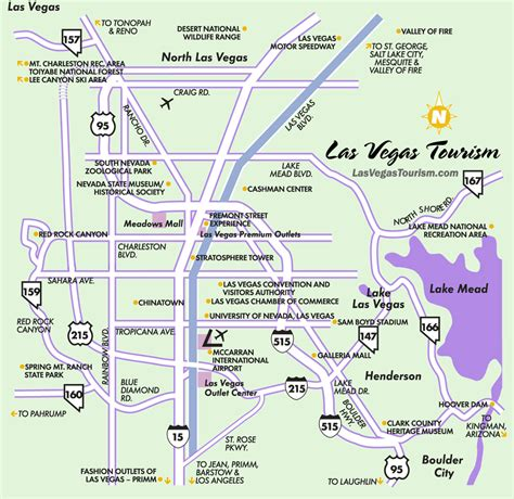 map las vegas las vegas city map