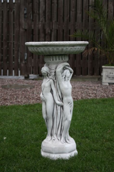 graces bird bath garden sculptures ornaments