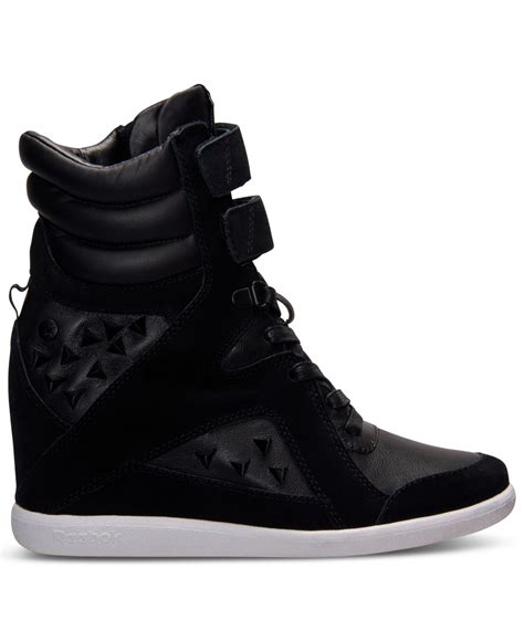 reebok wedge sneakers reebok s wedge casual sneakers from