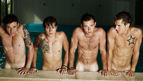 chicos des nudos famosos y celebrities antena 3 tv mcfly posan totalmente