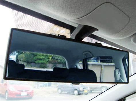 Blind Spot Mirror Racing Wide Angle Viewing Asli Kaca Spion Cembung 300mm wide flat or curve interior clip on rear view mirror