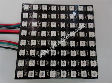 Sale Pcb Lubang Ic Matrix 8 8 64 led soft pcb display panel apa102 apa104