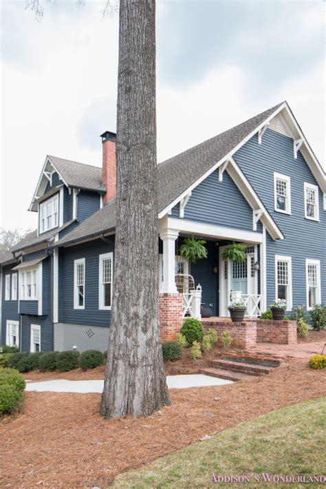 beautiful  light blue front door paint color  ace