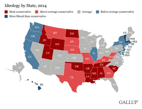 jobsanger the most conservative and most liberal states