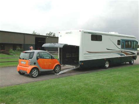 rv with car garage motor home with garage for cars