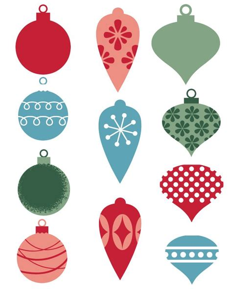 Printable Christmas Ornament Tags | free printable christmas ornament gift tags mama likes this