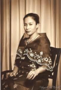 Old school filipino dress called quot maria clara quot filipino traditional