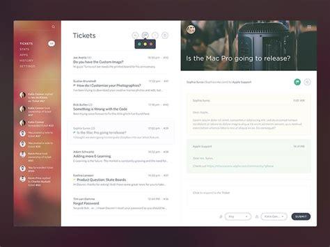 design email application 12 best ui master detail images on pinterest app