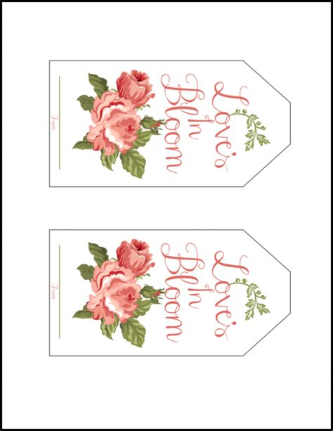 printable letter gift tags bridal shower gift tags business letter template