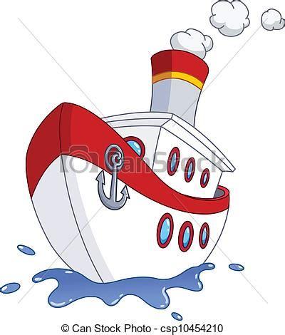 imagenes de barcos en caricatura vector clip art de barco caricatura barco csp10454210