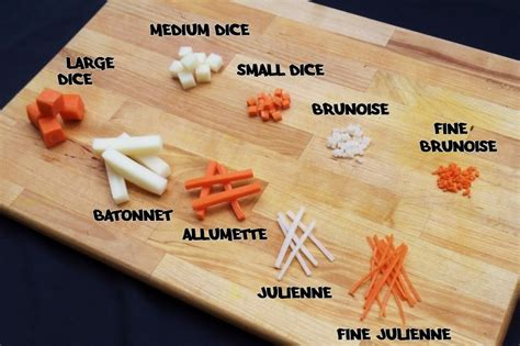 Kitchen Cutting Tools by 9 Basic Knife Cuts Everyone Needs To Know Kitchen Knife King