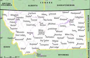 Montana Map With Cities by Map Of Montana Cities Counties Montana State Map