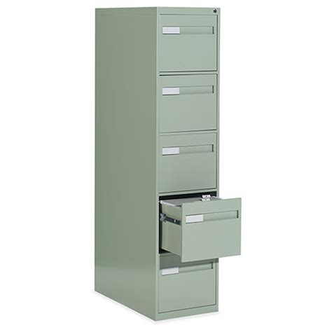 2 5 drawer vertical file cabinet recessed