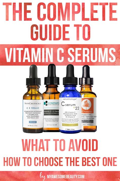 Serum Vitamin C Di Malaysia best vitamin c serum reviews for 2018 comparison