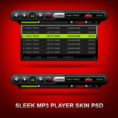 The Mp3 Player That Gives You Skin by Mp3 Player Skin Psd Graphicsfuel