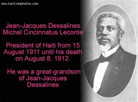cincinnatus leconte haitian president died in office