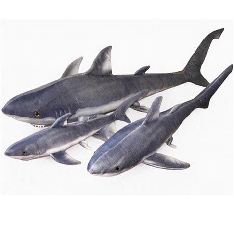 giant shark pillow fancytrader emulational animal plush shark toy realistic