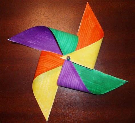 Pinwheel Paper Craft - pinwheel craft for teaching about the holy spirit