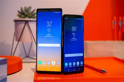 Samsung Galaxy Note 9 Vs 10 Plus by Compare Between Samsung Galaxy S10 Plus Vs Note 9 Vs S9 Plus