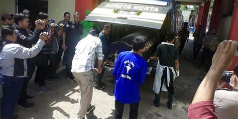 Lu Tembak Motor Malang spesialis begal di palembang tewas usai baku tembak dengan