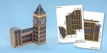 Big Ben Papercraft - big ben paper model big ben paper model craft