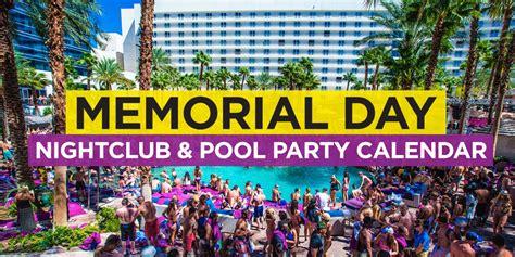 Vegas Event Calendar Las Vegas Memorial Day Weekend 2018 Edm Event Calendar
