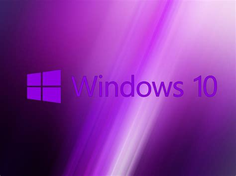 purple wallpaper for windows 10 windows 10 wallpaper purple with original logo hd
