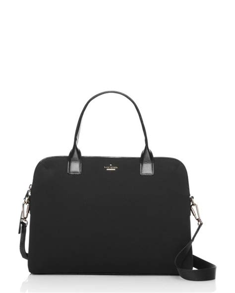 Kate Spade Daveney Laptop Bag Black kate spade neoprene daveney 15 quot laptop in black lyst