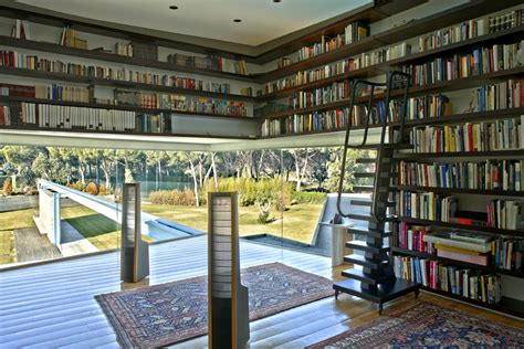 home libraries an amazing mansion in madrid