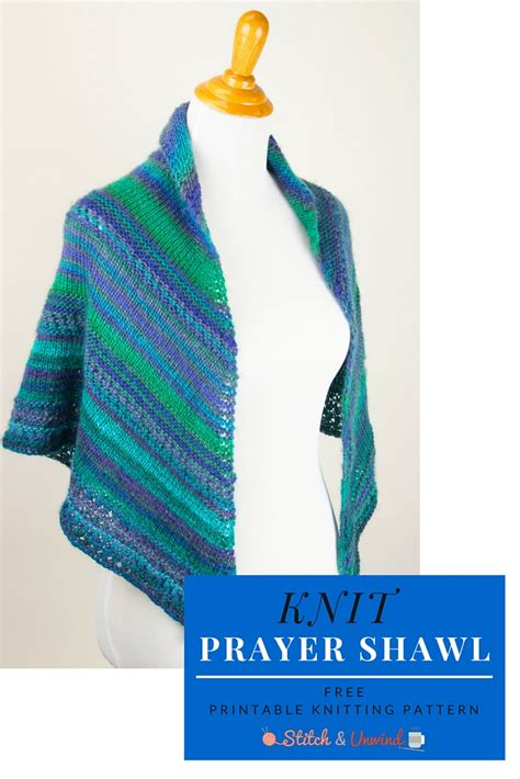 knitting pattern prayer shawl a blessed day knit prayer shawl