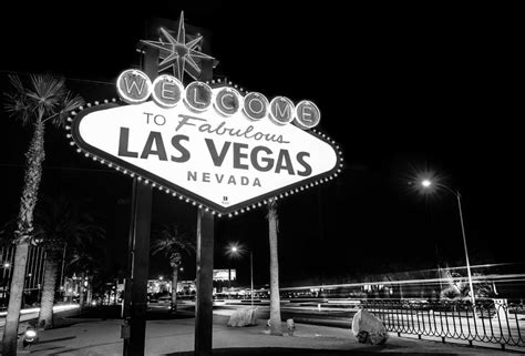 black and white vegas wallpaper welcome to fabulous las vegas neon sign in black and