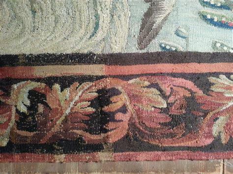 bordure de tapisserie restauration d une bordure d une tapisserie d aubusson
