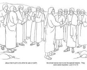 coloring pages of jesus and his disciples bible 12 disciples 12 apostles jo