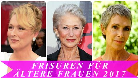 Frisurentrends 2017 Frauen by Frisuren F 252 R 228 Ltere Frauen 2017