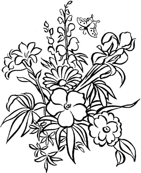 coloring pages printables flowers for adults coloring pages detailed coloring pages for adults