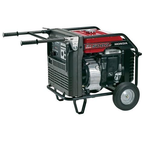 Honda Generator by Honda Em5000isab Generator Mutton Power Equipment